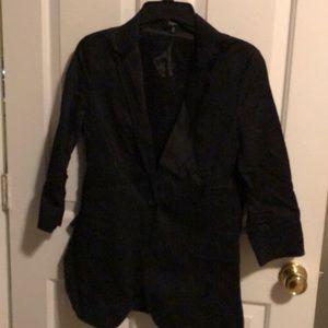 Express Black Jacket 3/4 Length Sleeves